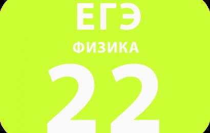22. Квантовая физика (изменение физических величин в процессах)