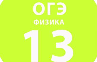 13. Магнитное поле. Электромагнитная индукция